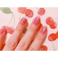. . なんとな〜〜くマイメロちゃんのネイル ︎︎☺︎ . #セルフネイル #ポリッシュ #マイメロディ #マイメロ #サンリオ #sanrio #mymelody #ピンク #pink #kawaii .