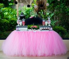 Tutu table skirt7