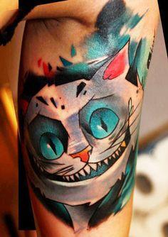 New School Animal Tattoo by Lehel Nyeste | Tattoo No. 12770