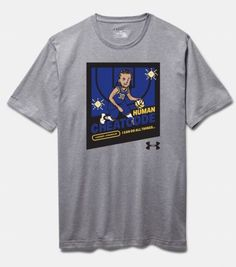 Stephen Curry 30 Video Game Youth Basketball Under Armour Graphic T-Shirt #Underarmour #Everyday