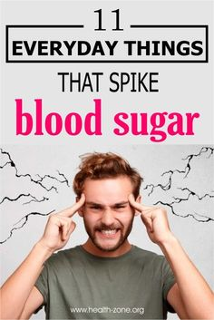 There are some triggers of high blood sugar, however, that are out of your control. Here are 11 everyday things that spike blood sugar. facts 11 Everyday Things That Spike Blood Sugar Beat Diabetes, Gestational Diabetes, Sugar Diabetes, Diabetes Awareness, Diabetes Facts, Lower Blood Sugar Naturally, High Blood Sugar, Blood Glucose Levels, Health