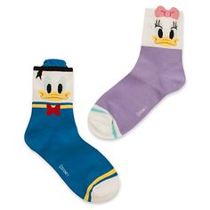 Donald and Daisy Duck Socks for Women @erik_naville !!!!!