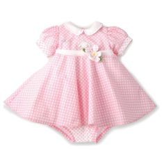 Bunnies By The Bay Baby-girls Newborn Blossom's Dress and Bloomers Set, Pink/White, 6-12 Months Bunnies by the Bay,http://www.amazon.com/dp/B00B57H8NY/ref=cm_sw_r_pi_dp_A58vtb16NM6N90XZ