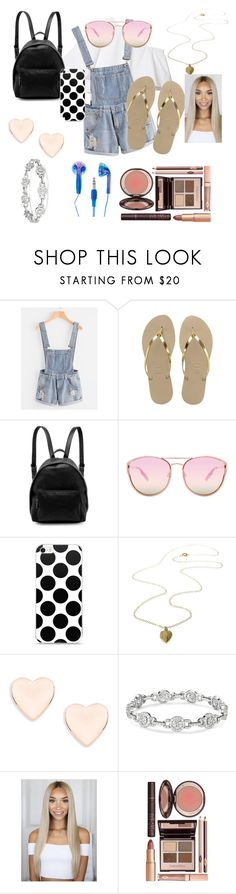 """""""Untitled #15"""" by pagie56 ❤ liked on Polyvore featuring Havaianas, STELLA McCARTNEY, Quay, Ted Baker and Charlotte Tilbury"""