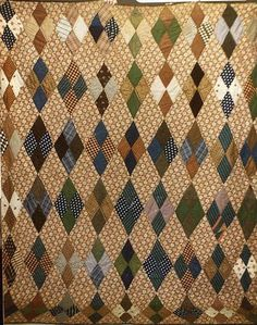 late c - 71 x 92 (twin to queen) - Excellent Wool Quilts, Cotton Quilts, Children's Quilts, Antique Quilts, Vintage Quilts, Crazy Quilt Blocks, Patch Quilt, Whole Cloth Quilts, Traditional Quilts