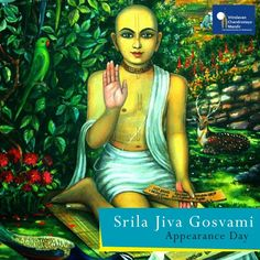 Srila Jiva Goswami is considered as the greatest philosopher & scholar who has ever lived.