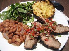 Santa Maria Barbecue (a.k.a. Santa Maria BBQ) is a local foods treasure from the Santa Maria Valley in California.