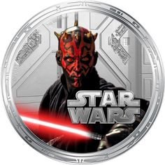 Darth Maul: Star Wars Series Two: One Ounce Silver Legal Tender Coins