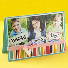 Simply Adorable Mother's Day Cards #MothersDay #crafts #kids #DIY