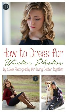Tips and tricks on how to dress for winter photos from a professional photographer, look your best in photos that will deck the halls all year long!
