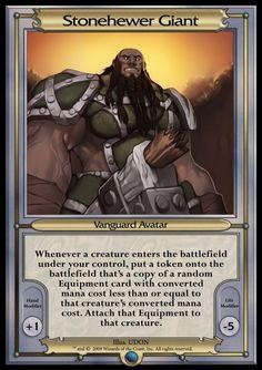 Other - Vanguard MTGO 2 - Stonehewer Giant