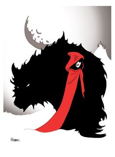 New Tattoo Wolf Wolves Red Riding Hood 30 Ideas Little Red Ridding Hood, Red Riding Hood, Charles Perrault, Art Manga, Wolf Girl, Wolf Tattoos, Digital Art Girl, Red Hoodie, The Villain