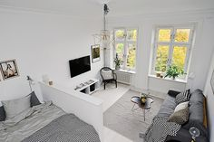 An irresistibly charming studio apartment in Gothenburg