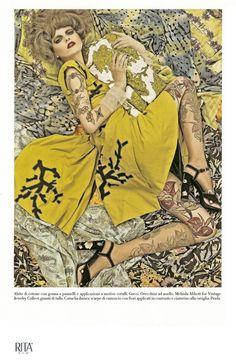 "Vogue Italia December 2007 ""Vogue Patterns"" Ph. Steven Meisel (via http://foto-decadent.livejournal.com/1663523.html)"