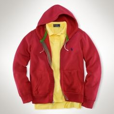 Fleece Full-Zip Hoodie - Polo Ralph Lauren Sweatshirts - RalphLauren.com