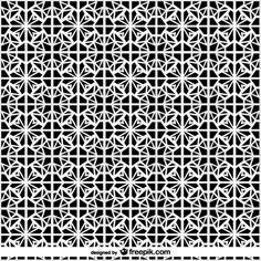 Vector symmetrical arabic islamic pattern background