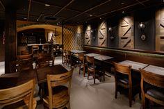 Интерьер ресторана Mar y Tierra в Японии