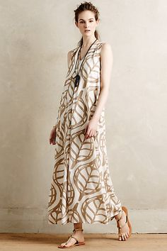Pera Maxi Dress #anthropologie Looks better in catalogue