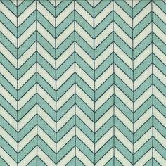 Aqua Chevron - Hip Fab Fluffer Nutter by Moda Fabrics- Yard - Geometric Fabric - Aqua - Chevron Fabric - PB & J Chevron Fabric, Geometric Fabric, Fluffer Nutter, Cotton Quilting Fabric, Fabric Sewing, Dress Making Patterns, Novelty Fabric