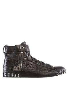 Diesel - Reboot Leather Sneak (FS 14) - EUR 240,00