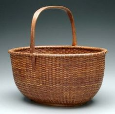 they're more expensive than longaburgers; I saw one large basket on nantucket island for five thousand dollars Old Baskets, Vintage Baskets, Large Baskets, Wicker Baskets, Making Baskets, Nantucket Baskets, Nantucket Island, Egg Basket, Basket Decoration