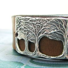 Hey, I found this really awesome Etsy listing at https://www.etsy.com/listing/205446064/through-the-trees-fine-silver-and