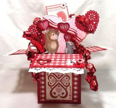 Popin' in with some Luvin' by hordemother - Cards and Paper Crafts at Splitcoaststampers