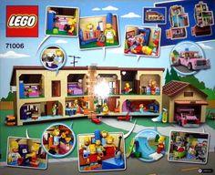 Les premières images des figurines Lego des Simpsons