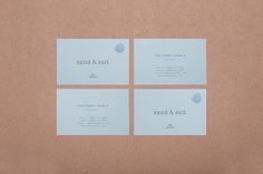 Corporate Identity, Brand Concept Design, Packaging Design, Web Interface DesignClient : Sand & Salt / A.A. Busaba, Bangkok Thailand