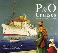 P & O Cruises poster from yesteryear.