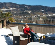 Ein #Urlaubstag auf unserer #Terrazza in #Mondsee! Einfach herrlich! Terrazzo, Simple