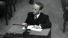 """But Ferencz knew they were guilty and could prove it. Without calling a single witness he entered into evidence the defendants' own reports of what they'd done. Exhibit 111: """"In the last 10 weeks we have liquidated around 55000 Jews.""""  Exhibit 179 from Kiev in 1941: """"The city's Jews were ordered to present themselves about 34000 reported including women and children. After they had been made to give up their clothing and valuables all of them were killed which took several days."""" Exhibit 84…"""