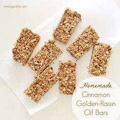 Homemade Clif Bars are a cinch with this simple method.
