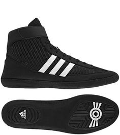 c6865e0875b adidas Wrestling Shoes Combat Speed 4 Black White Black