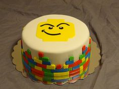 Sew Sweet Creations: Lego cake
