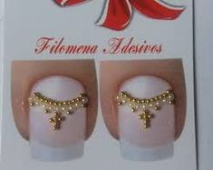 Resultado de imagem para joias de unhas coruja Gem Nails, Nail Manicure, Pedicure, Manicures, Swarovski Nails, Rhinestone Nails, Caviar Nails, Nails Design With Rhinestones, Nail Jewelry