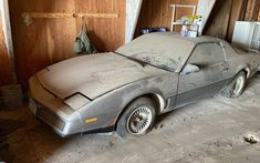 Best Barns, Barn Garage, Float Your Boat, Trans Am, Early Retirement, Vintage Sheets, Barn Finds, Automatic Transmission, One Pic