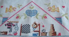 Ricamo, embroidery, broderie, bordado,.....: punto croce