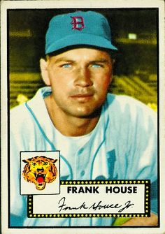 Frank House 1952 Catcher - Detroit Tigers  Card Number: 146  Series: Topps Series 1