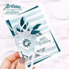 Stampin' Up! Poppy Cards, Outdoor Birthday, Karten Diy, Sympathy Cards, Flower Cards, Stampin Up Cards, Making Ideas, Cardmaking, Poppies