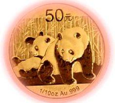 China's Panda gold bullion coin
