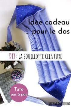 Super idée cadeau pour Noël: la bouillote sèche pour le dos. Tu peux la coudre facilement et rapidement avec mon tutoriel pas à pas Korn, Julien, Creations, Diy, Blog, Dressmaking, Gift Ideas, Tutorial Sewing, Fabric Strips