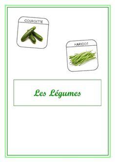 Imagier du jardin - Les légumes