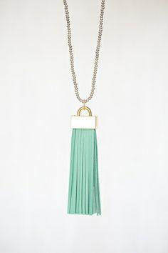 Tassel Necklace from Flourish & Fete