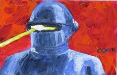 Gort by MonsterBob Robot, Earth, Painting, Painting Art, Paintings, Robots, Painted Canvas, Drawings, Mother Goddess