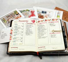 Last week's plans in my bullet journal #bulletjournal # bujo #planner