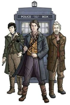 THE WAR DOCTOR AND COMRADES.