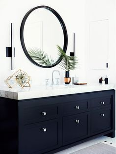 Before & After: A Must-See Bathroom Makeover via @domainehome