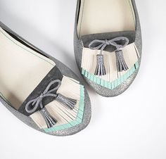 The Fringed Loafers Shoes  -  Handmade Leather Shoes