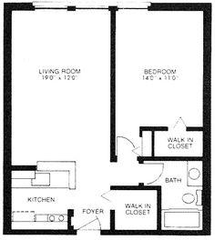One Bath 600 Sq Ft Situated At 4854 Washtenaw Avenue ANN
